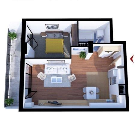Apartamente 2 camere B2