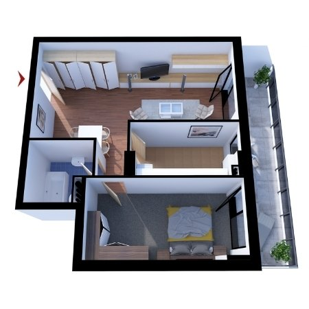 Apartamente 2 camere B1